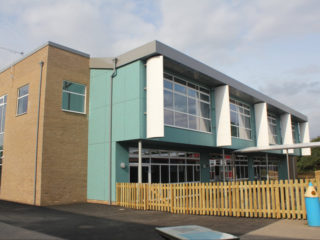 Ghyllgrove Cladding Installation Complete