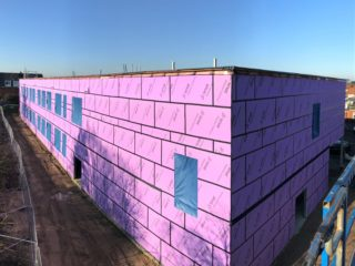 Great Yarmouth Academy  – New Science Block Installation Complete